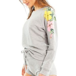 Wildfox • Hibiscus Sweatshirt